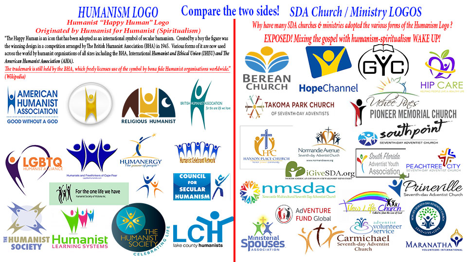 small Humanism and SDA Logo