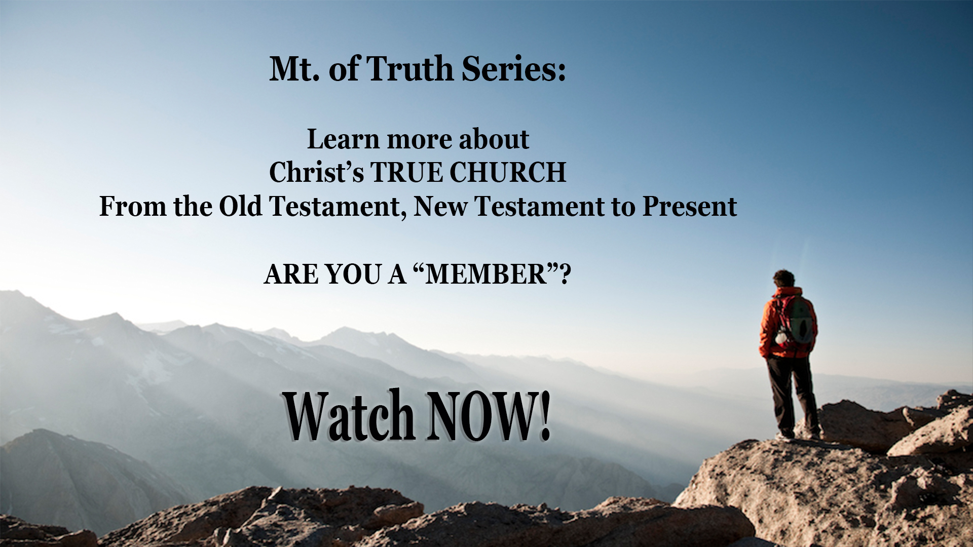 Mt of Truth Series